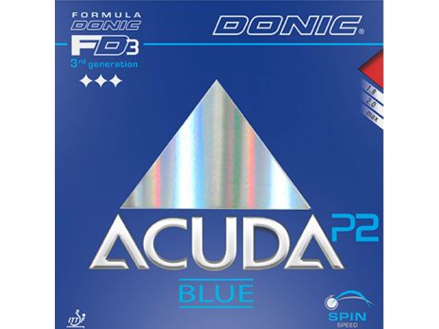DONIC Acuda Blue P2 rot 2.0 mm