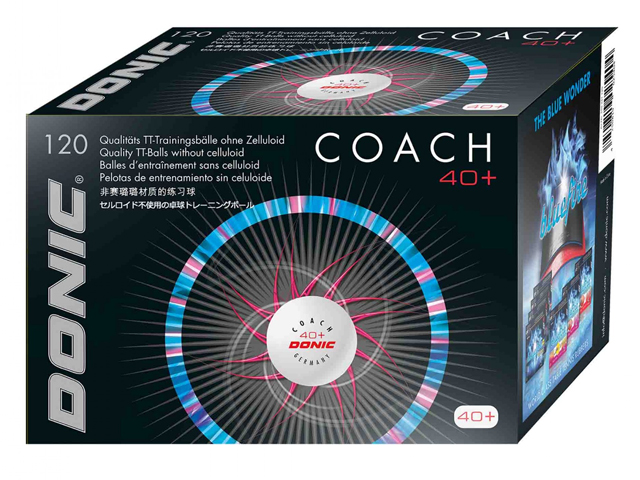 DONIC Coach 40+ Cell-Free