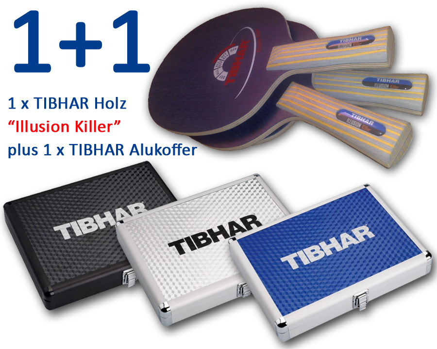 TIBHAR Holz Illusion Killer plus Alukoffer