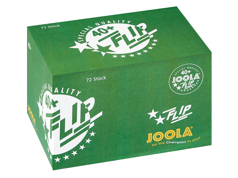 JOOLA Trainingsball Flip 72-er Karton
