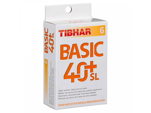 TIBHAR Trainingsball Basic 40+ SL 6-er