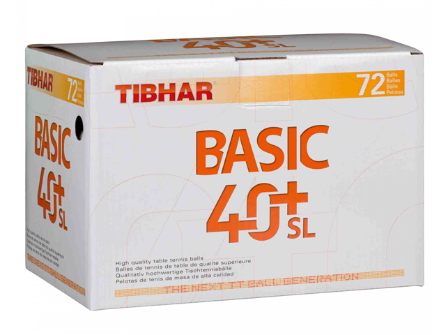 TIBHAR Trainingsball Basic 40+ SL 72-er