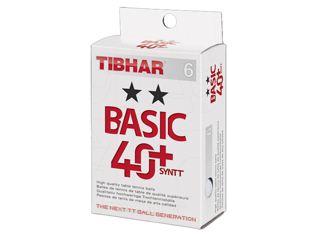 TIBHAR Trainingsball Basic ** 40+ SYNTT 6er
