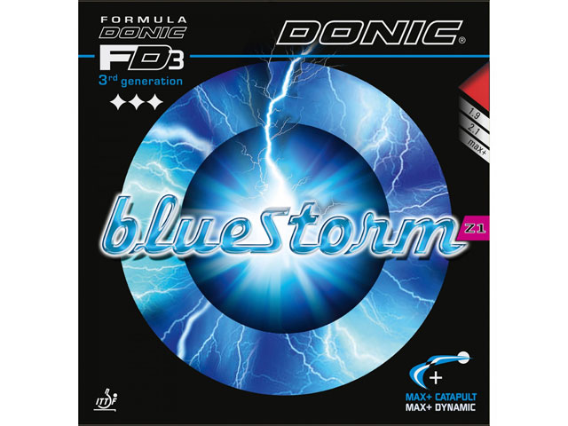 DONIC Bluestorm Z1 rot 2.1 mm