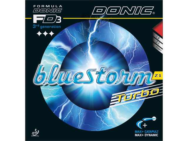 DONIC Bluestorm Z1 Turbo rot 2.1 mm