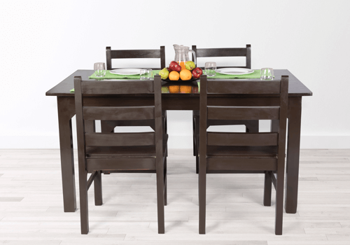 Solid Wood 4 Seater Dining Table On Rent