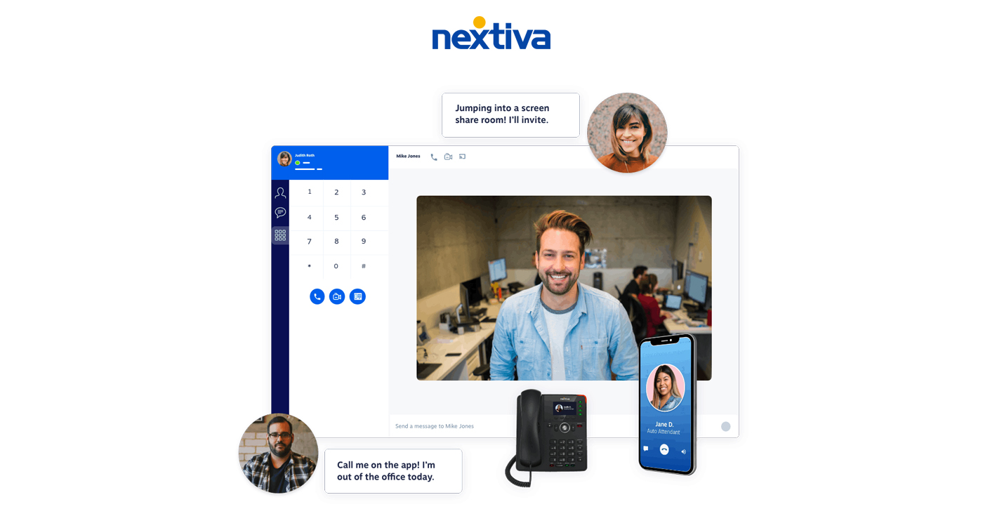 Nextiva screenshot