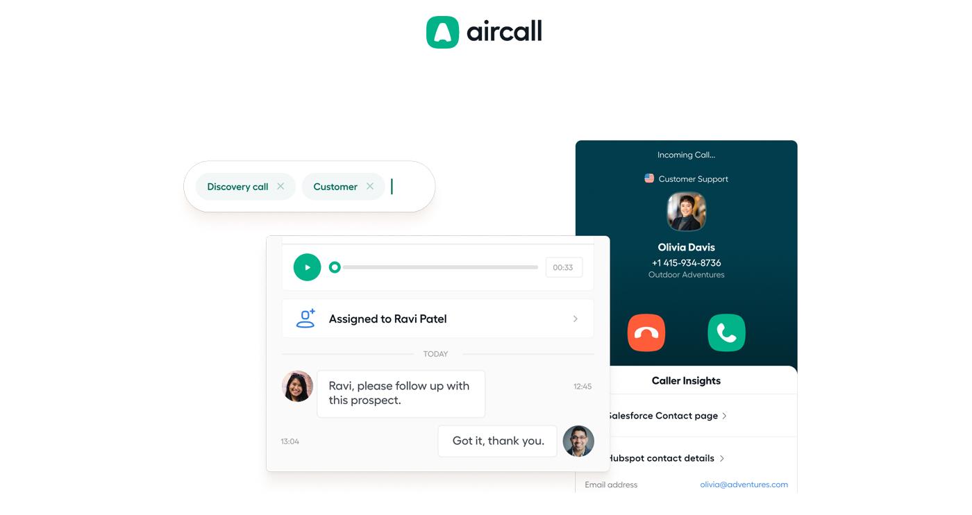 aircall sceenshot