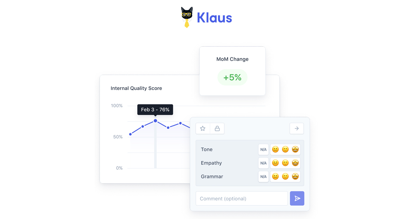 klaus app screenshot