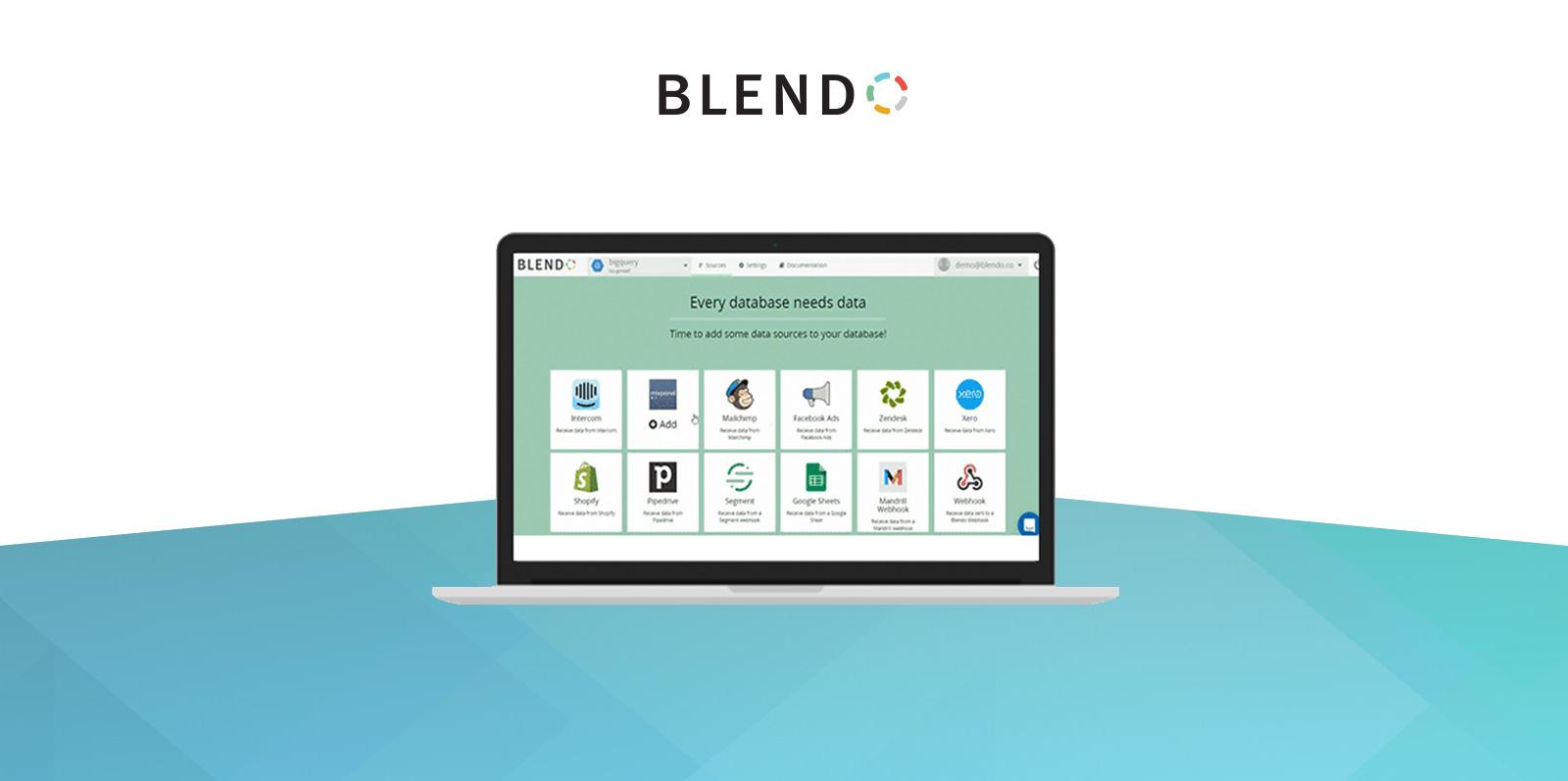 Blendo customer data management for Intercom