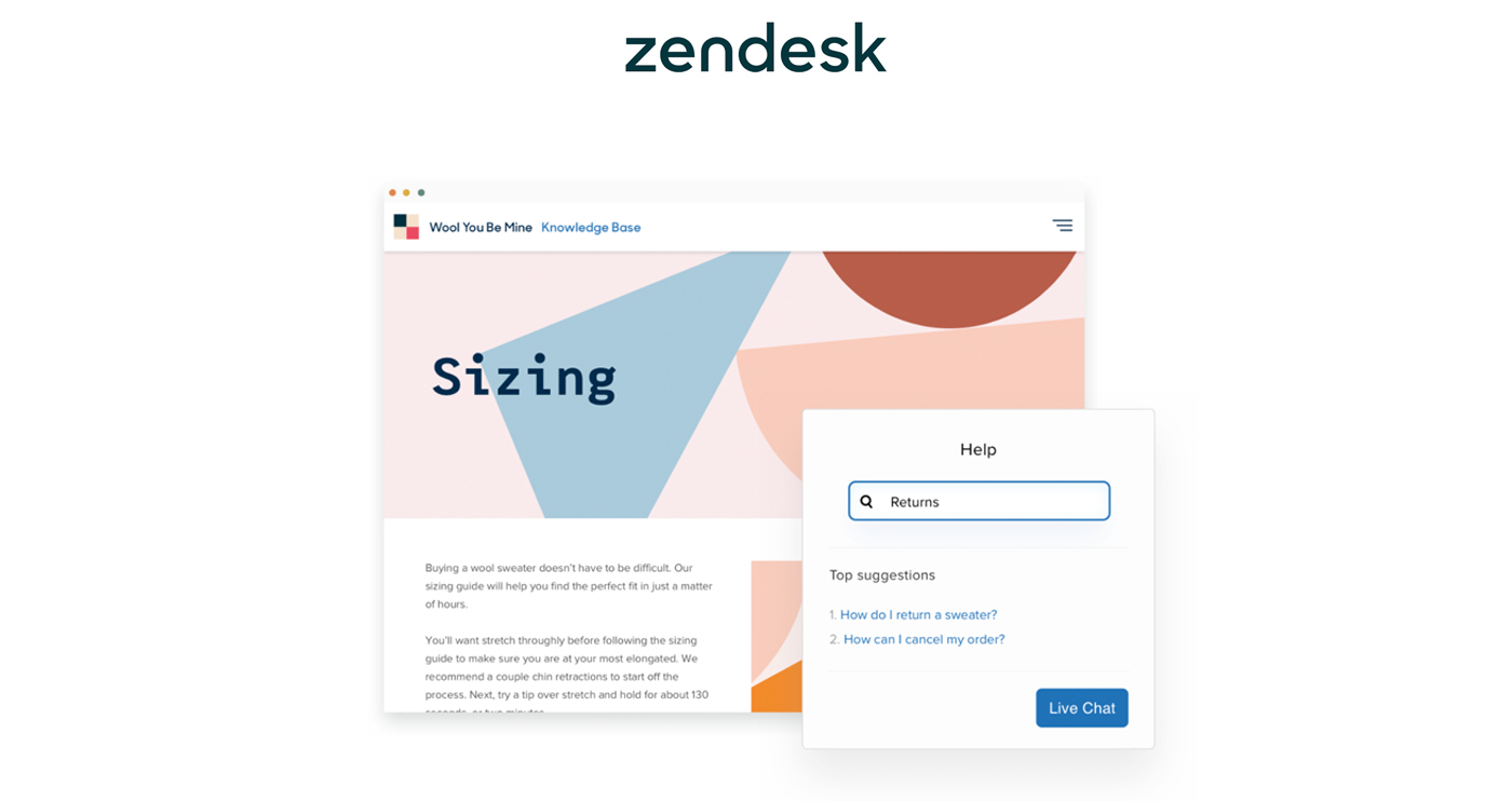 zendesk guide screenshot