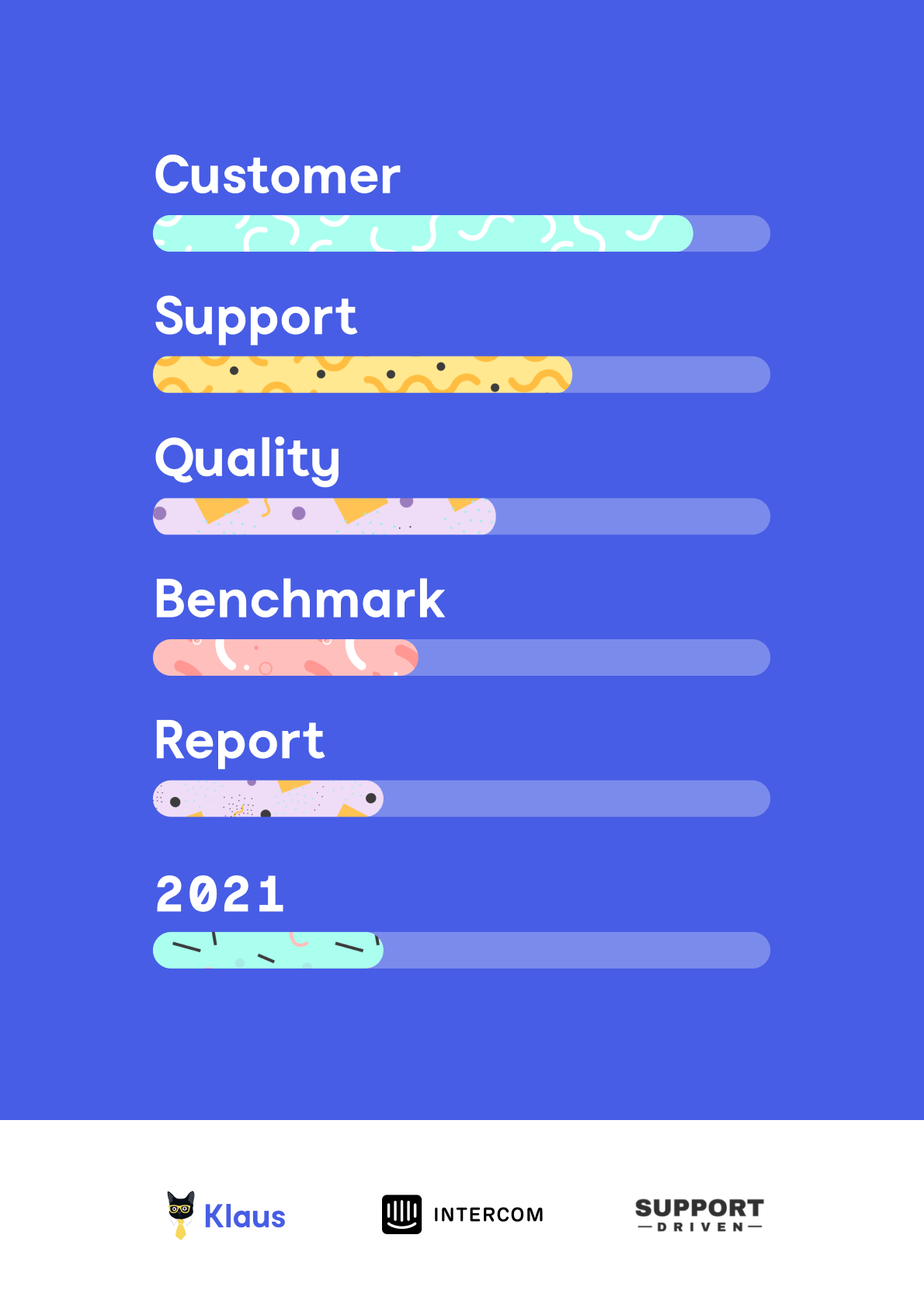 """The world of customer support is changing and evolving. Teams are adopting new tools and strategies in order to provide world-class support. However, it's hard to understand what a """"good result"""" actually looks like. This report is designed to provide you with customer service benchmark figures focused on quality."""
