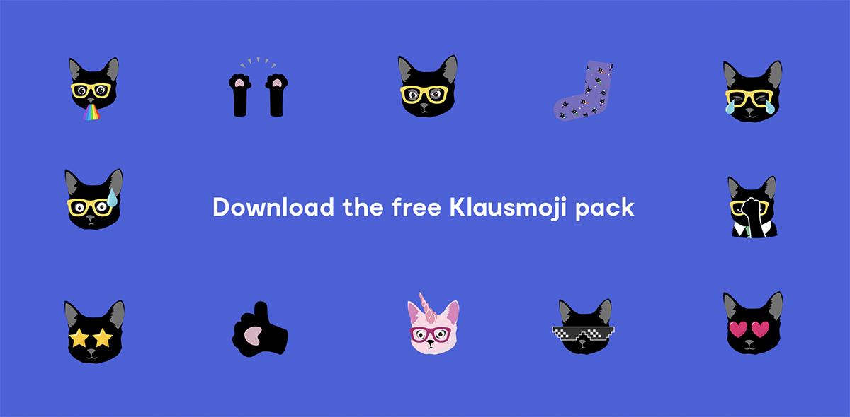 download-klaus-emojis