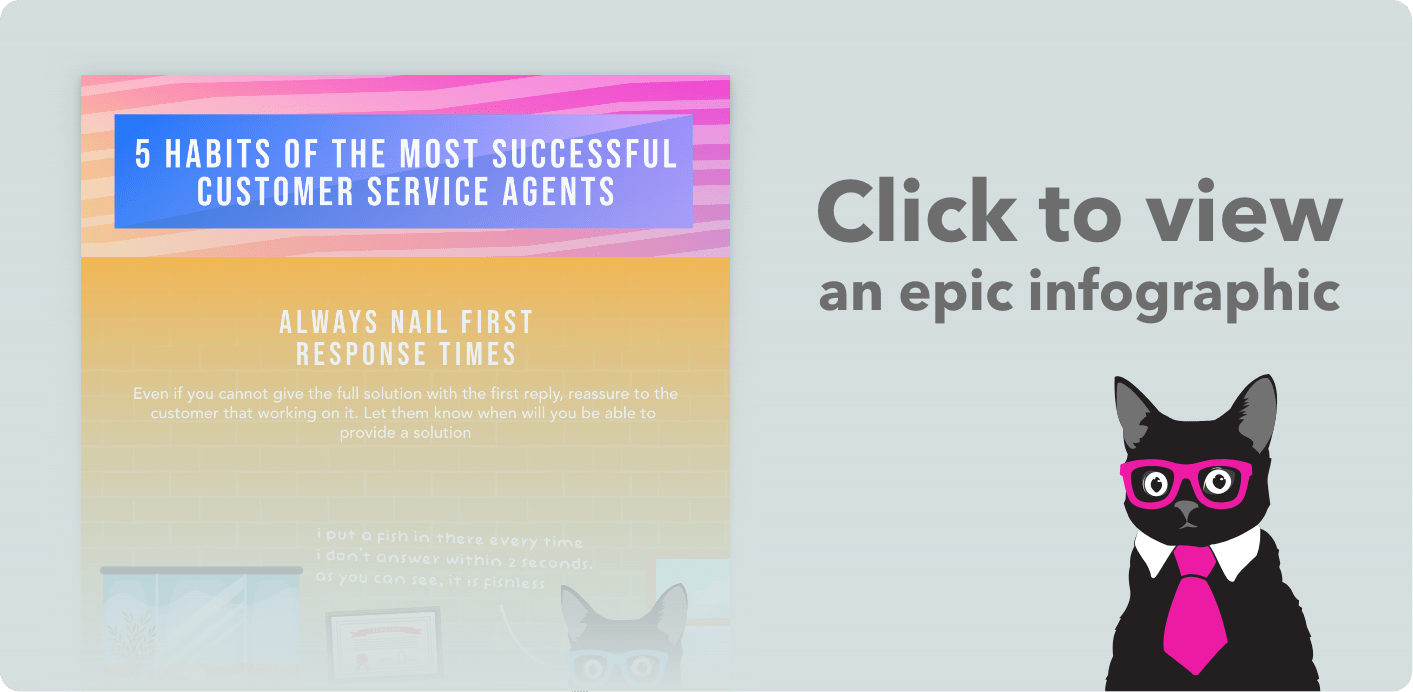 5 Habits of Successful Customer Service Agents [Infographic]