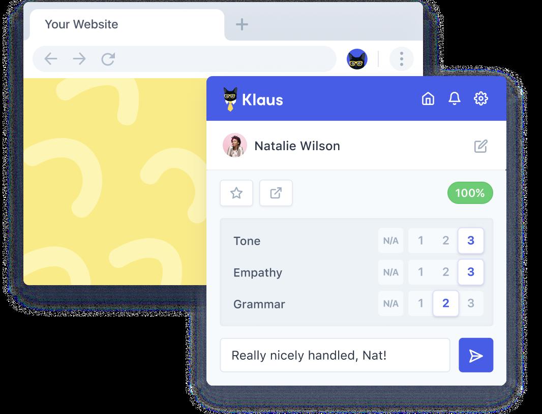 Browser Extension Klaus