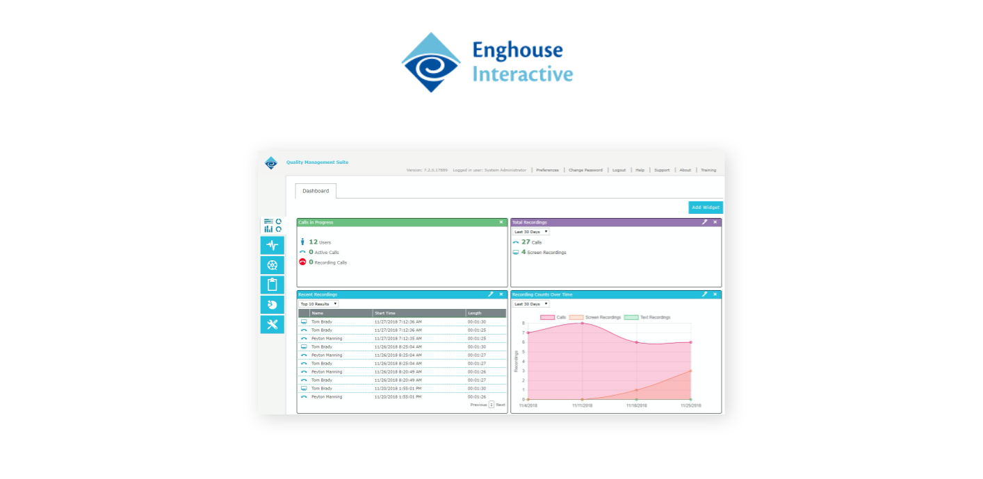 Enghouse Interactive Quality Management Suite