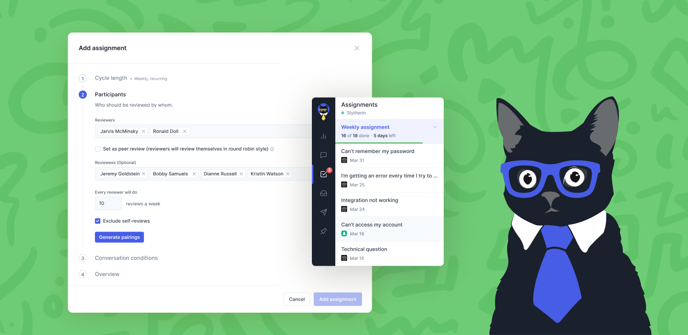 Image: Say Goodbye to Manual Work with the All-New Review Assignments
