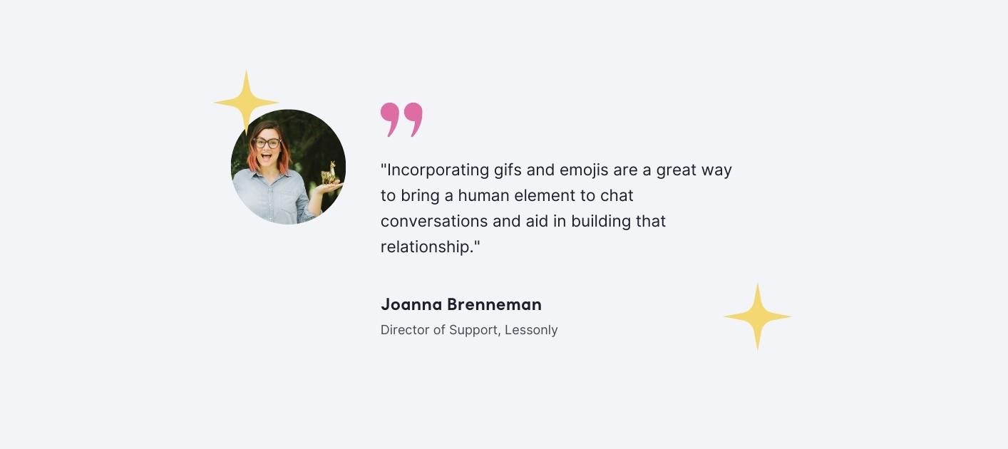 Joanna Brenneman - Director of Support, Lessonly