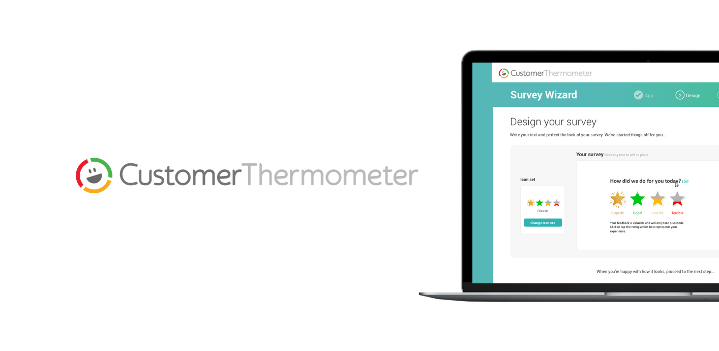 Customer Thermometer customer satisfaction tool