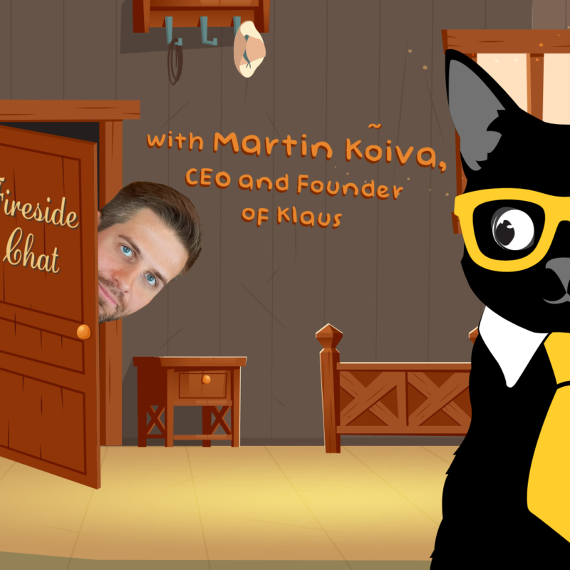 Fireside Chat with Martin Kõiva, CEO and Founder of Klaus
