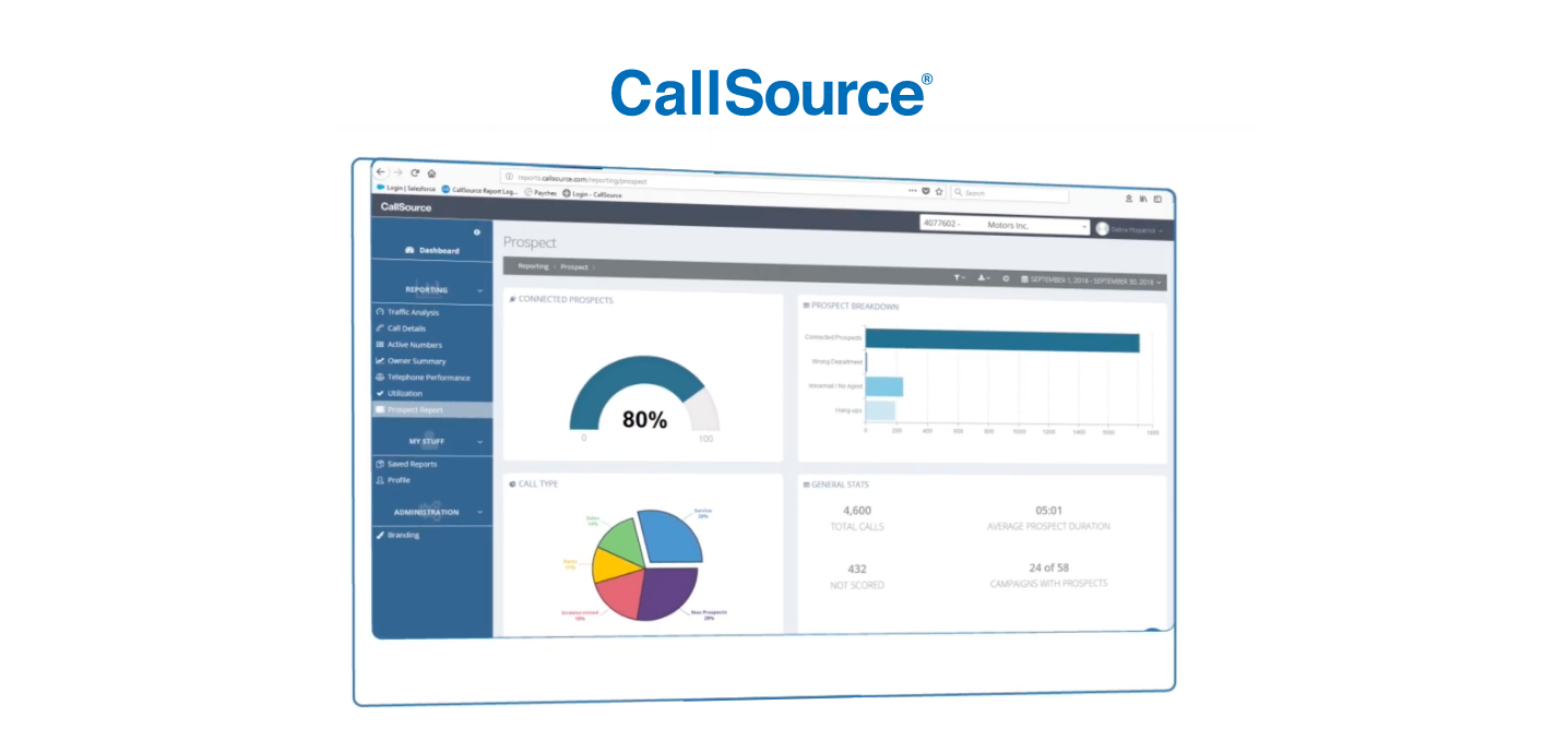 CallSource QA Software