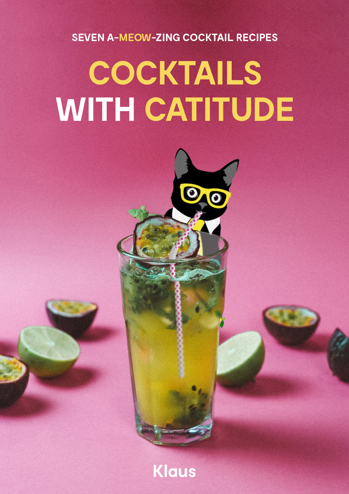 Cocktails with Catitude - Cover - Klaus