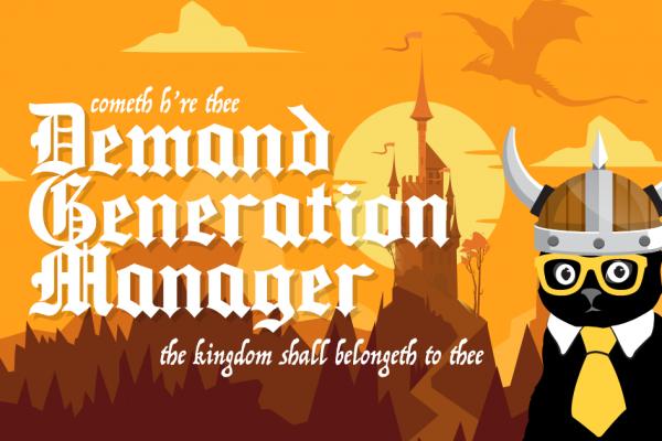 Demand generation manager jobs klaus