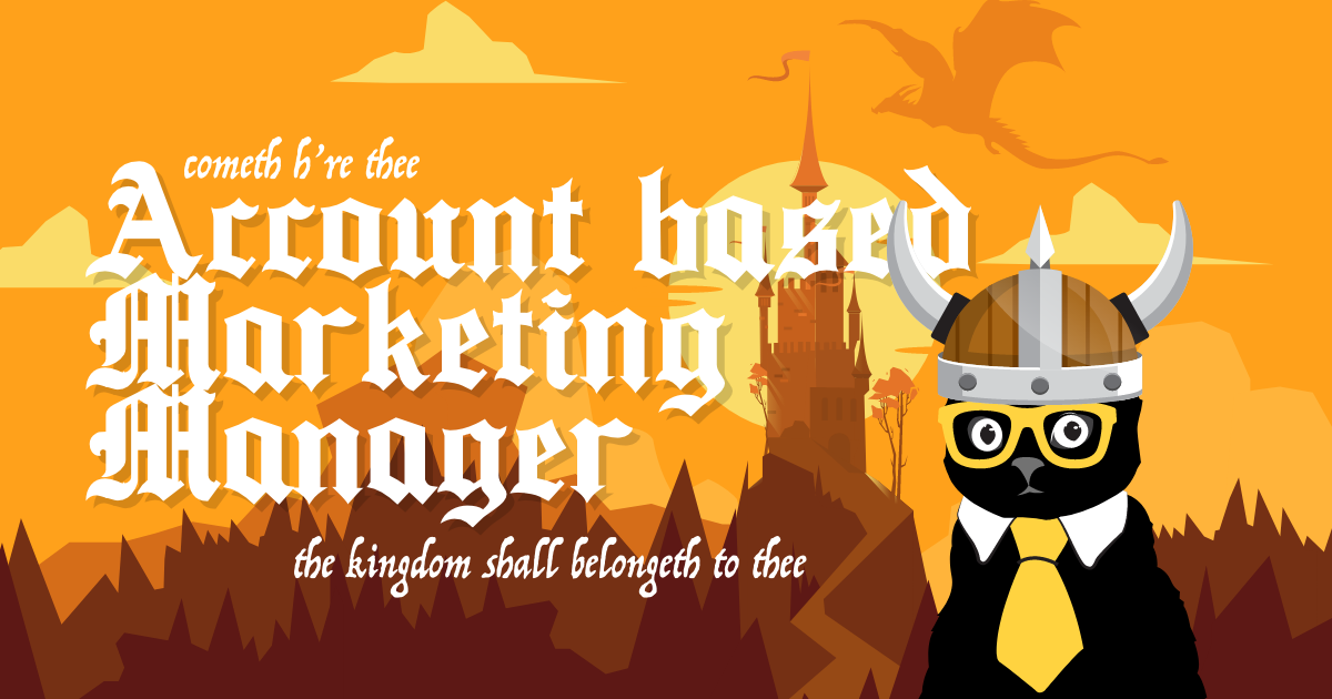 Account-Based Marketing Manager