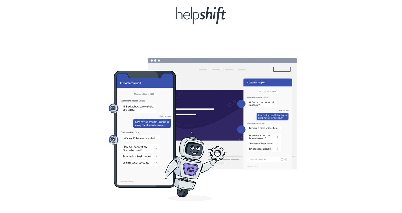 helpshift screenshot