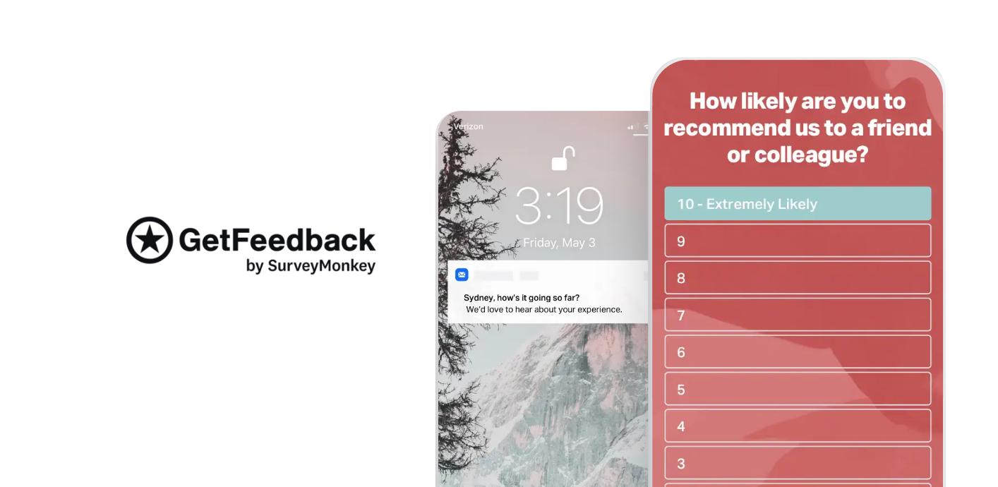 GetFeedback CSAT and customer survey tool