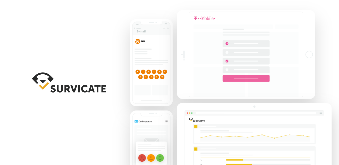 Survicate customer feedback tool
