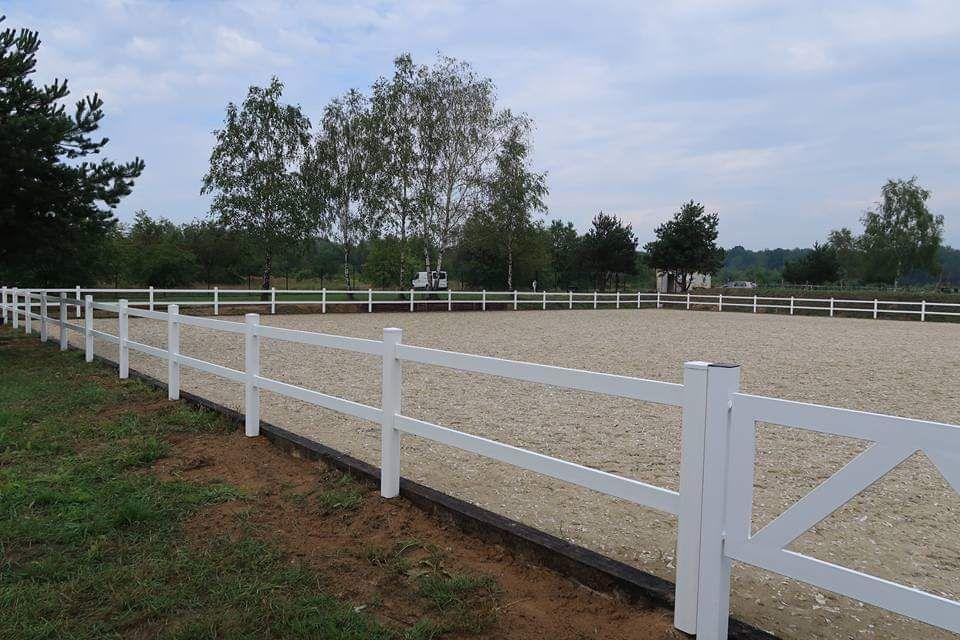 Ogrodzenie ogrodzenia farmerskie przesło dla koni tworzywowe plastik