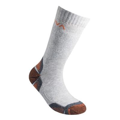 Kids Mountain Socks Carbon/Lily Orange