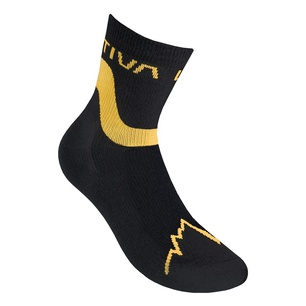 Snowrun Socks Black/Yellow