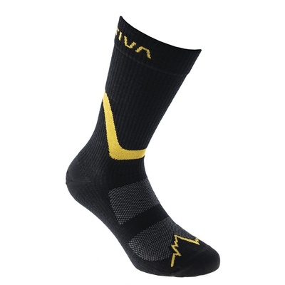 Hiking Socks Black/Yellow