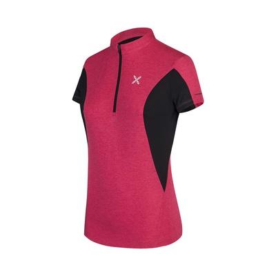 Track Zip Mujer - Camiseta Ciclismo Montura