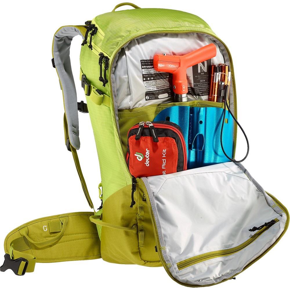 Freerider Pro 34+ - Mochila 34 litros Amarillo Nieve Deuter