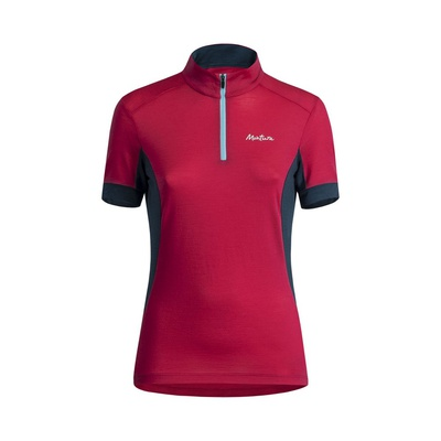 Merino Trendy Zip Mujer - Camiseta Trekking Montura