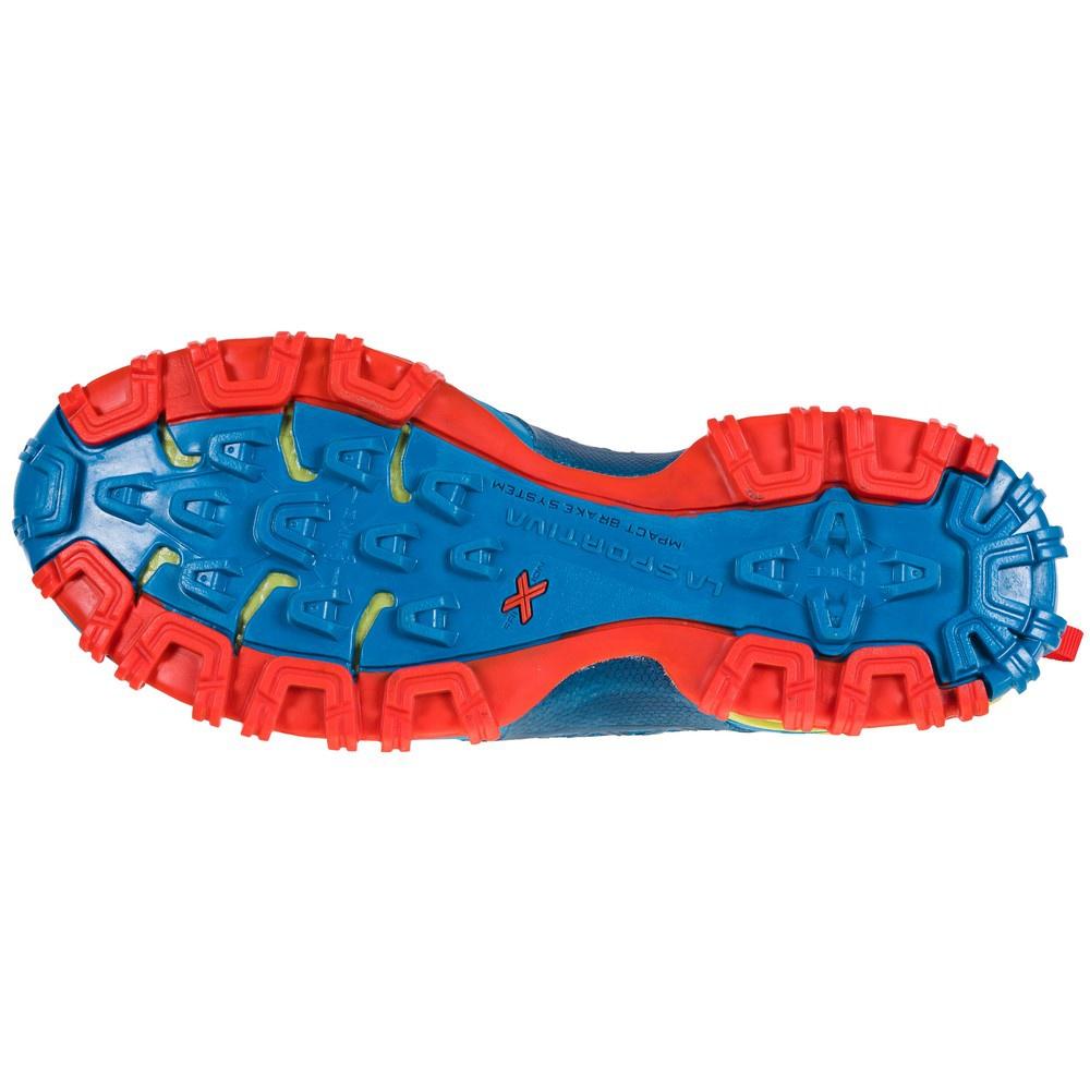 Bushido II Neptune/Kiwi Hombre - Zapatilla Trail Running La Sportiva
