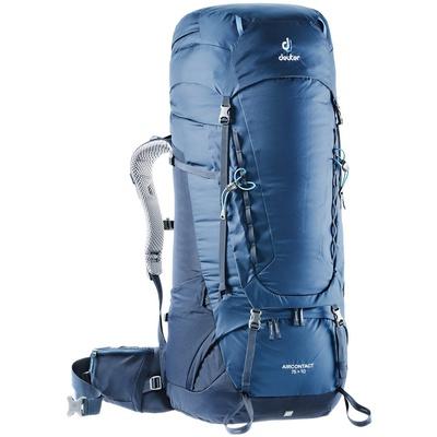 Aircontact 75 + 10 - Mochila 85 litros Azul Trekking Deuter