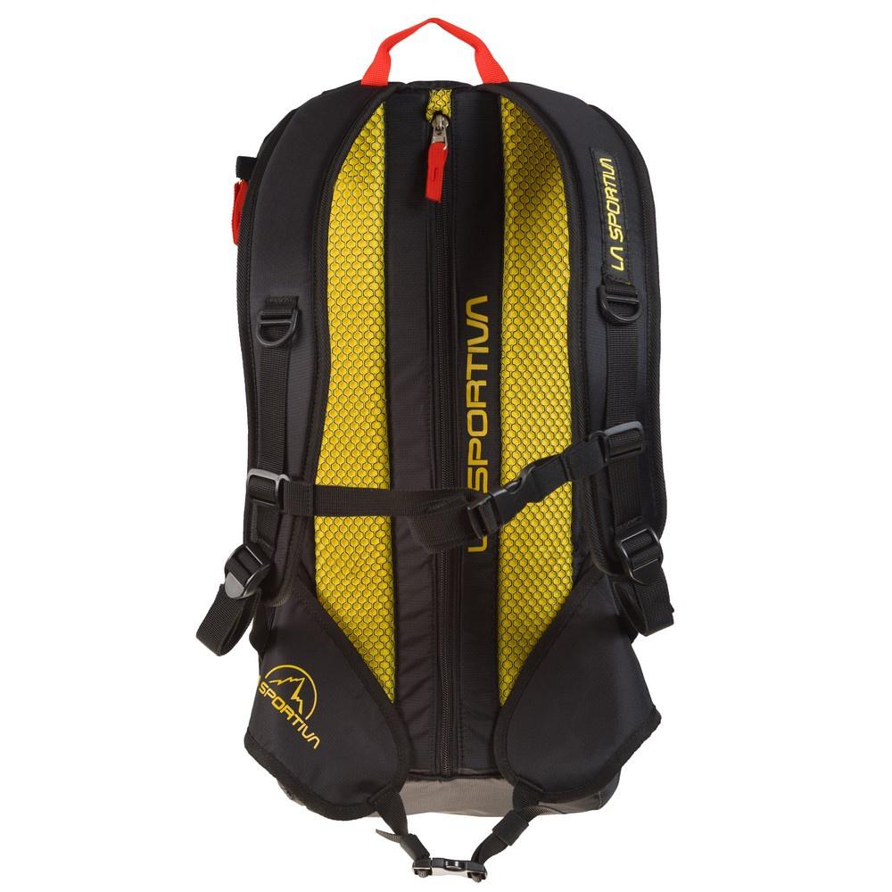 X- Cursion Black/Yellow - Mochila Escalada La Sportiva