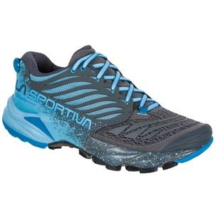 Akasha Carbon/Pacific Blue Mujer - Zapatilla Trail Running La Sportiva