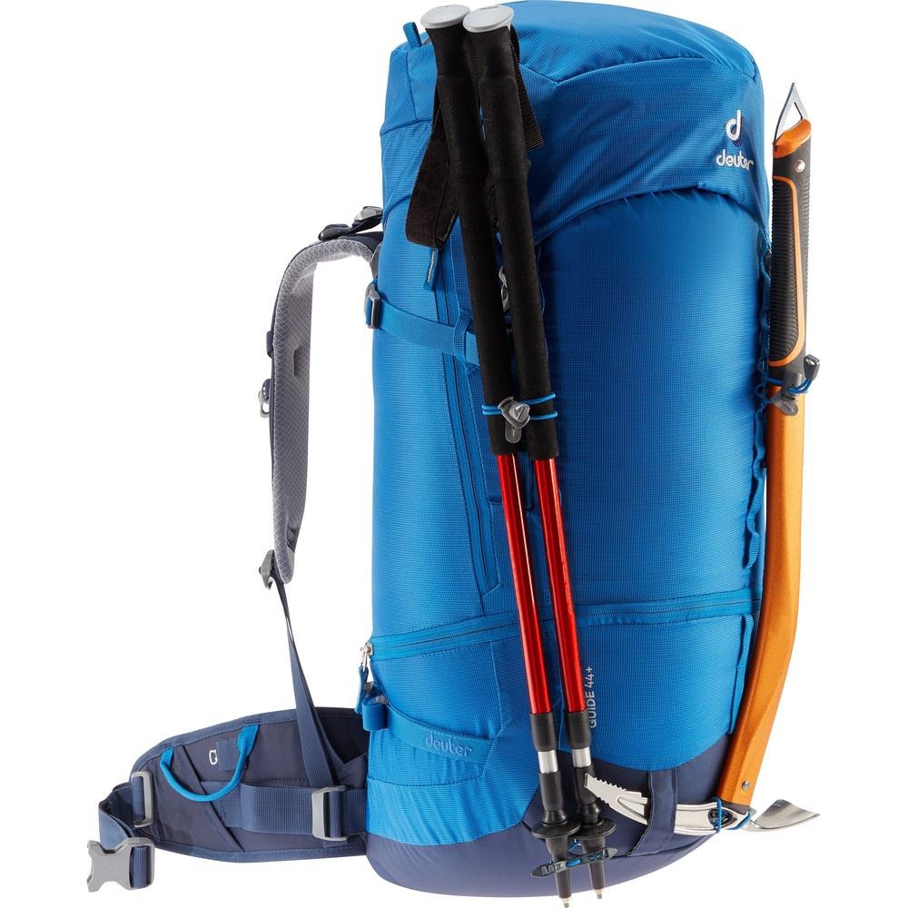 Guide 44+ - Mochila 44 litros Azul Alpinismo Deuter