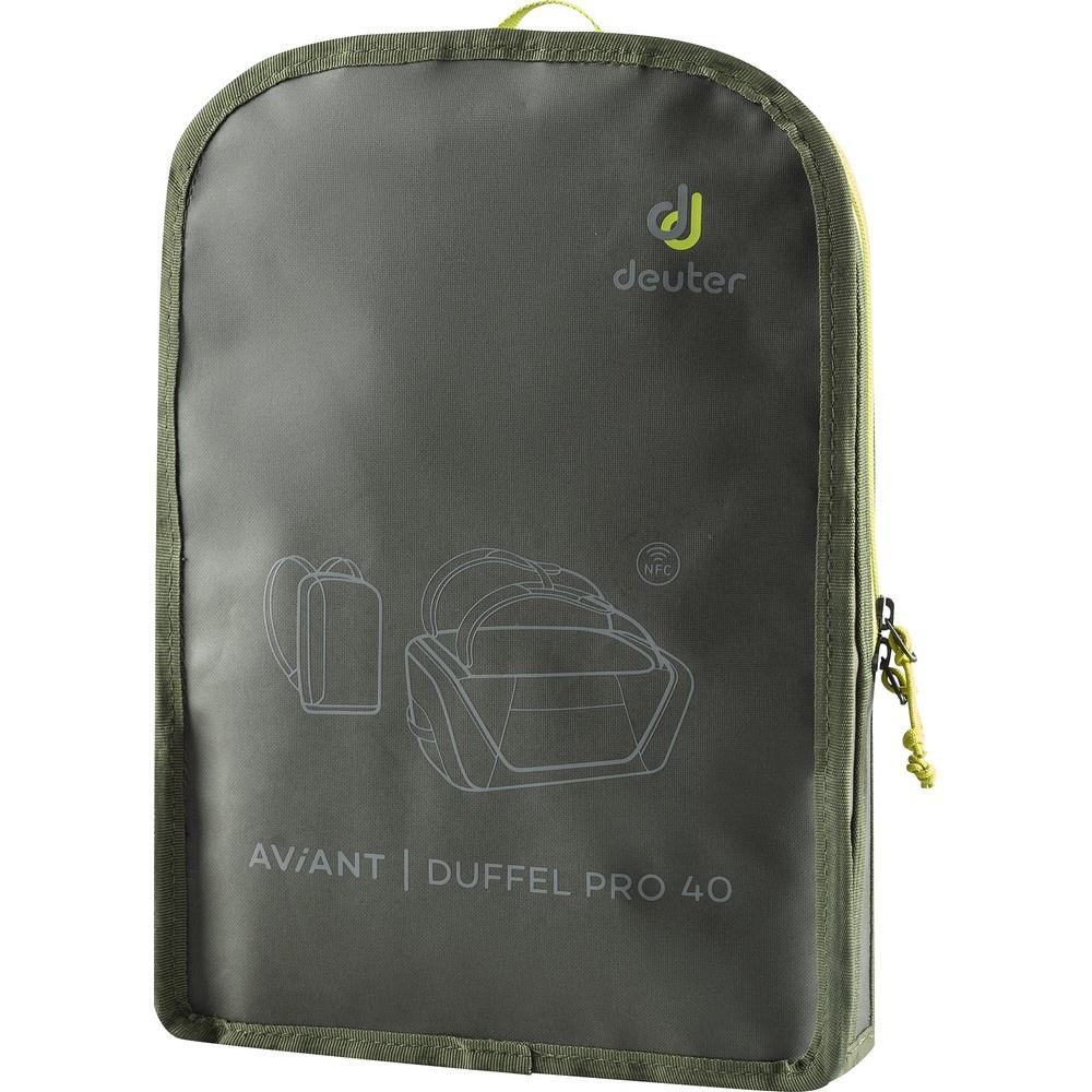 Aviant Duffel Pro 40 - Mochila 40 litros Verde Trekking Deuter