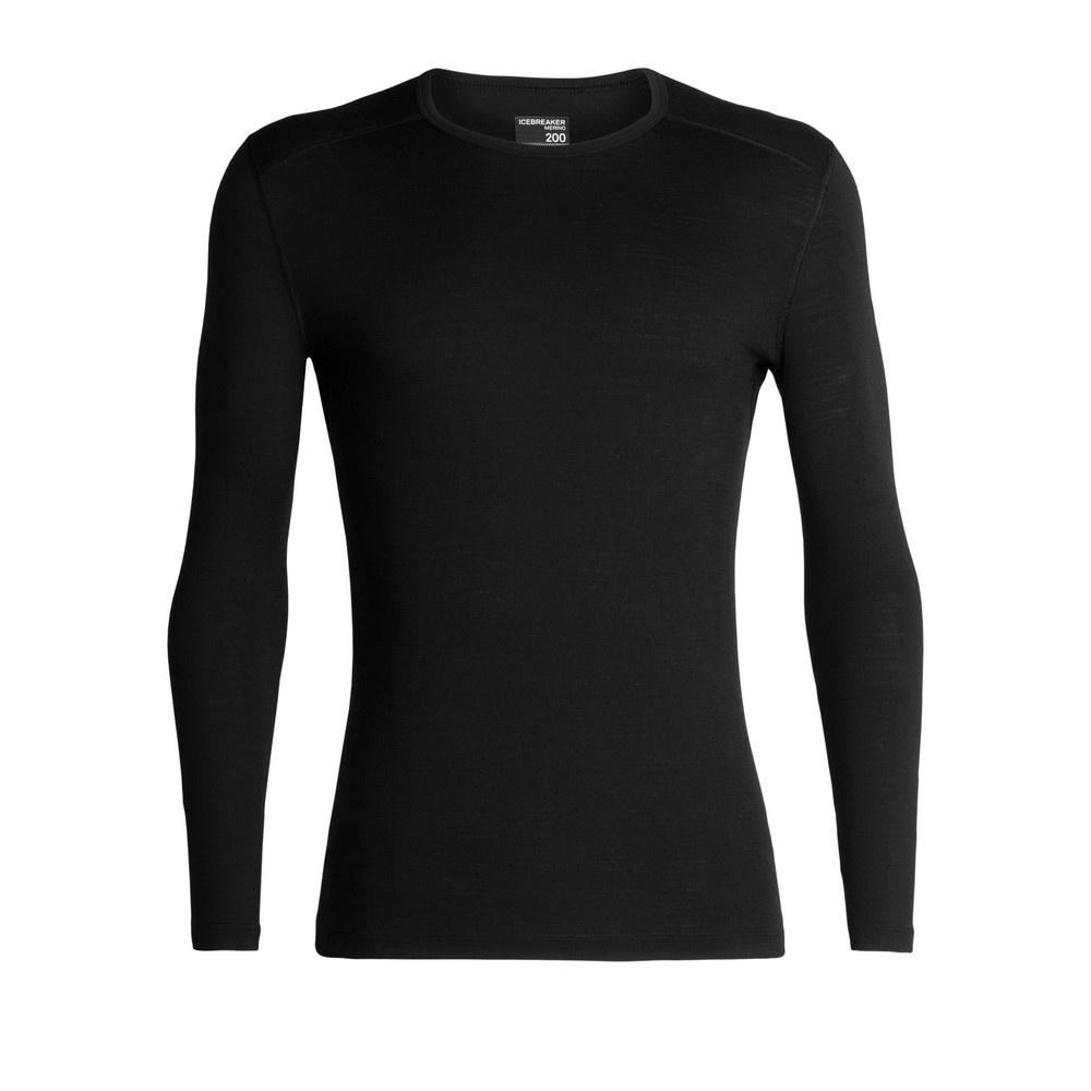 200 Oasis Deluxe LS Crewe Hombre - Camiseta Trekking Icebreaker