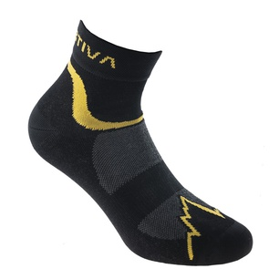 Fast Running Socks Black/Yellow