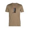 Tech Lite SS Crewe Otter Paddle Hombre - Camiseta Trekking Icebreaker