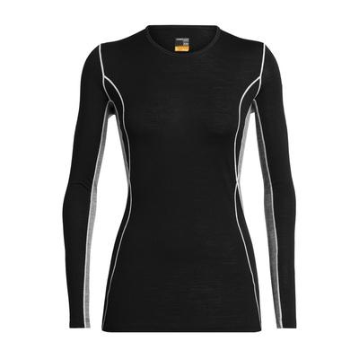 200 Oasis Deluxe LS Crewe Mujer - Camiseta Trekking Icebreaker