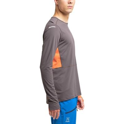 L.I.M Crown Ls Hombre - Camiseta Trail Running Haglofs