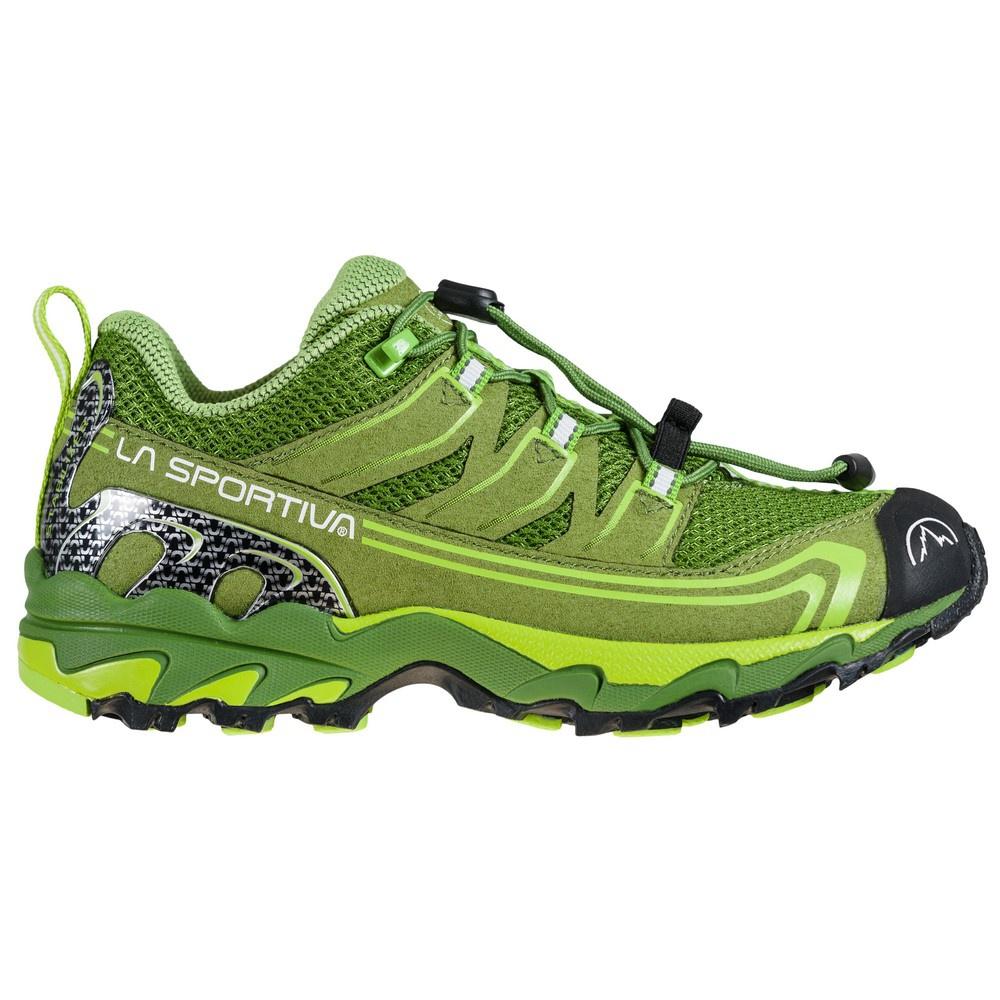Falkon Low 27-35 Kale/Lime Green Niños - Zapatilla Trail Running La Sportiva